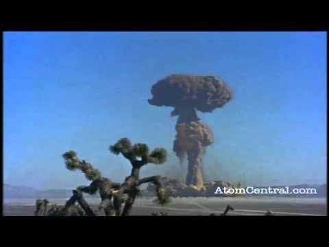Bomba atómica - Experimentos yanquis (Uno)