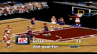 NBA Live 97 SNES Gameplay HD