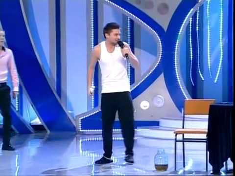 Анна Семенович и Сергеи Лазарев КВН