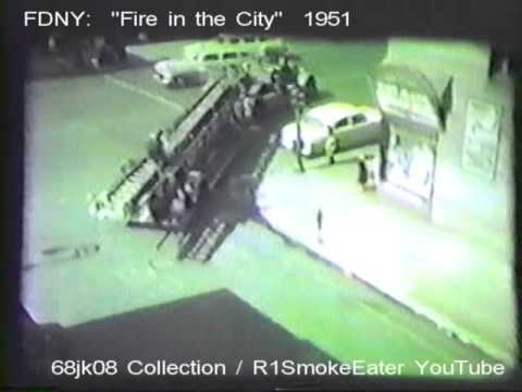 "FDNY: ""Fire in the City"" 1951."