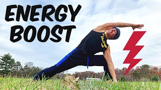 Quick Power Yoga Energy Boost Flow