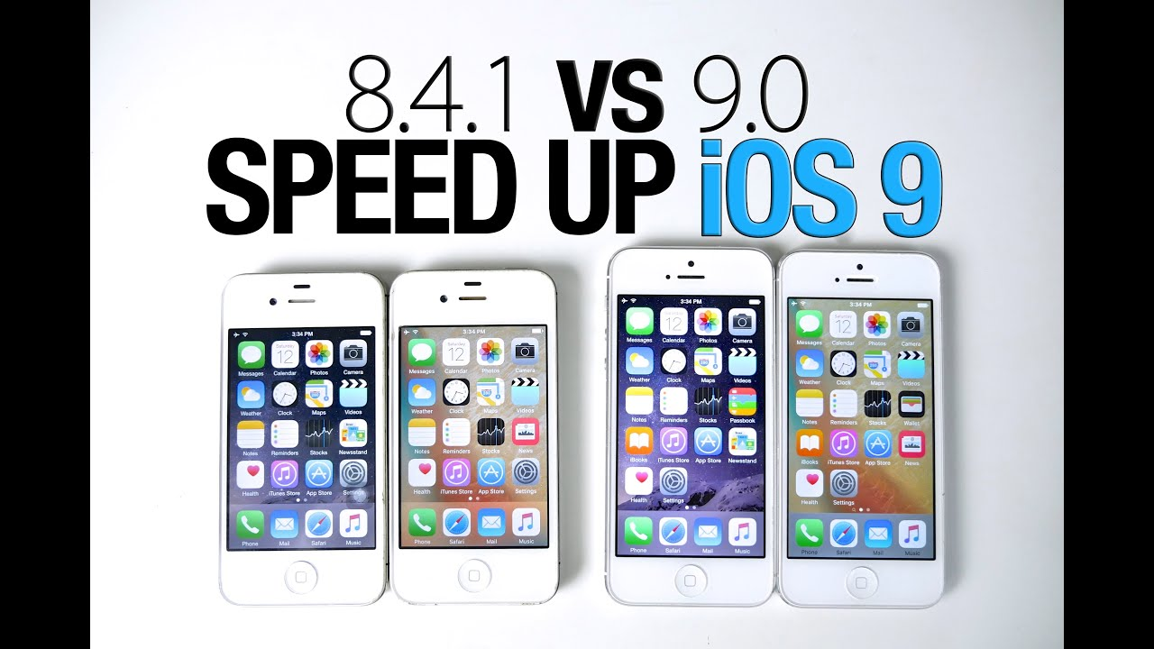how to speed up iphone 5 did ios 9 iphone 4s or 5 how to speed up ios 9 19108