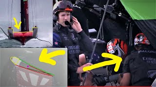 America's Cup Mainsails: Another ETNZ Loophole! + Mysterious Upper Control Zone