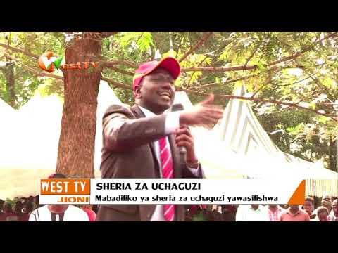 Mswada wa Mabadiliko katika sheria za uchaguzi