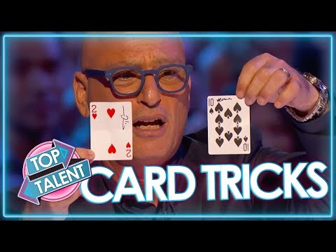 Best Card Tricks That SHOCKED Judges! | Top Talent