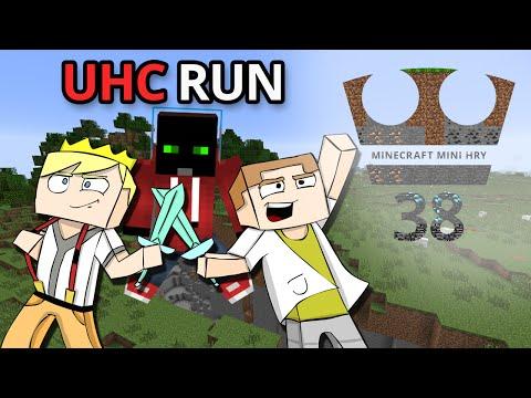 Jirka a GEJMR a Marwex Hraje - Minecraft Mini hry 38 - UHC RUN