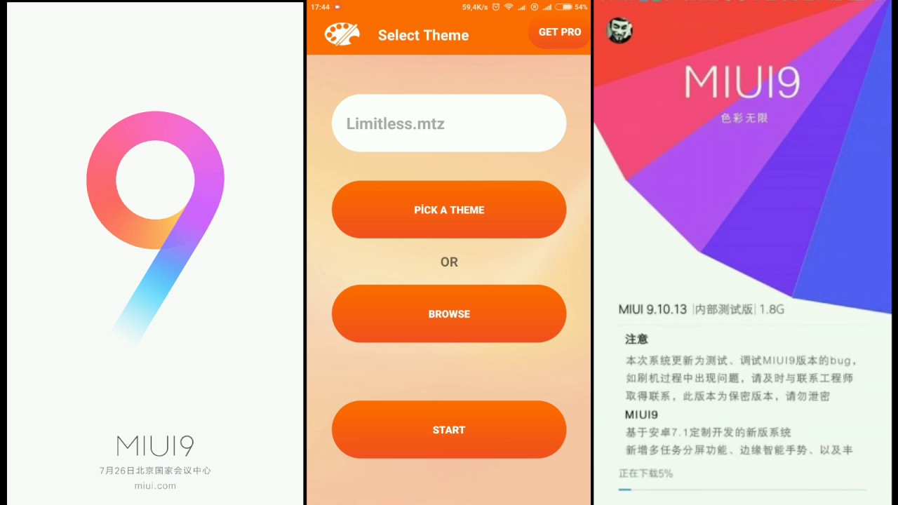 MİUİ 9 Official Theme Download For MİUİ 8  & Fix for