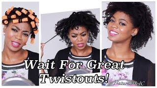 Wait For Great Twistouts! - Full Twist & Curl Takedown Talk Through - 4C Natural Hair