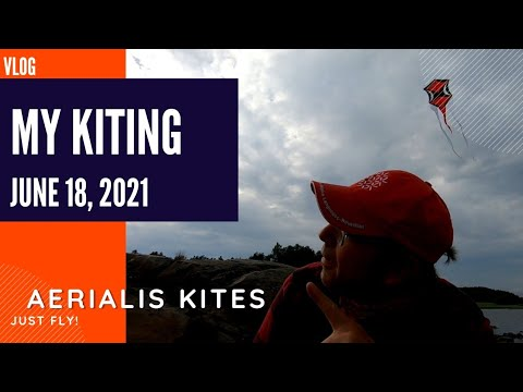 My Kiting - June 18th 2021 - A Too Small Kite