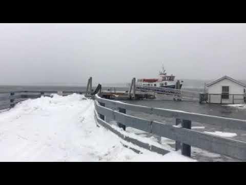 1/4/18 Cousin Island wharf CTC boat