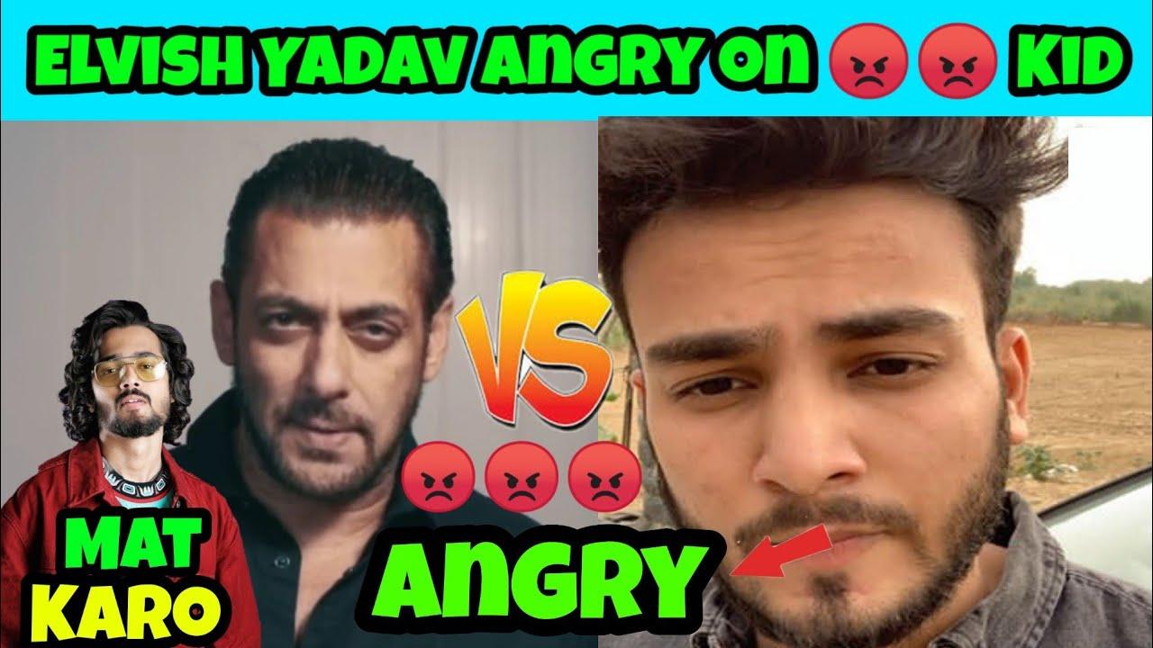 Elvish Yadav 😡😡 Angry Reply to Haters   Ashish chanchlani ,BB ki vines ,Amit bhadana News Update