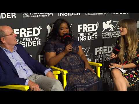 Octavia Spencer and Richard Jenkins - THE SHAPE OF WATER - 74 Venice Film Festival