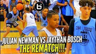 Julian Newman vs Jaythan Bosch Pt 2!! Julian GETS REVENGE at NEO ELITE Camp!