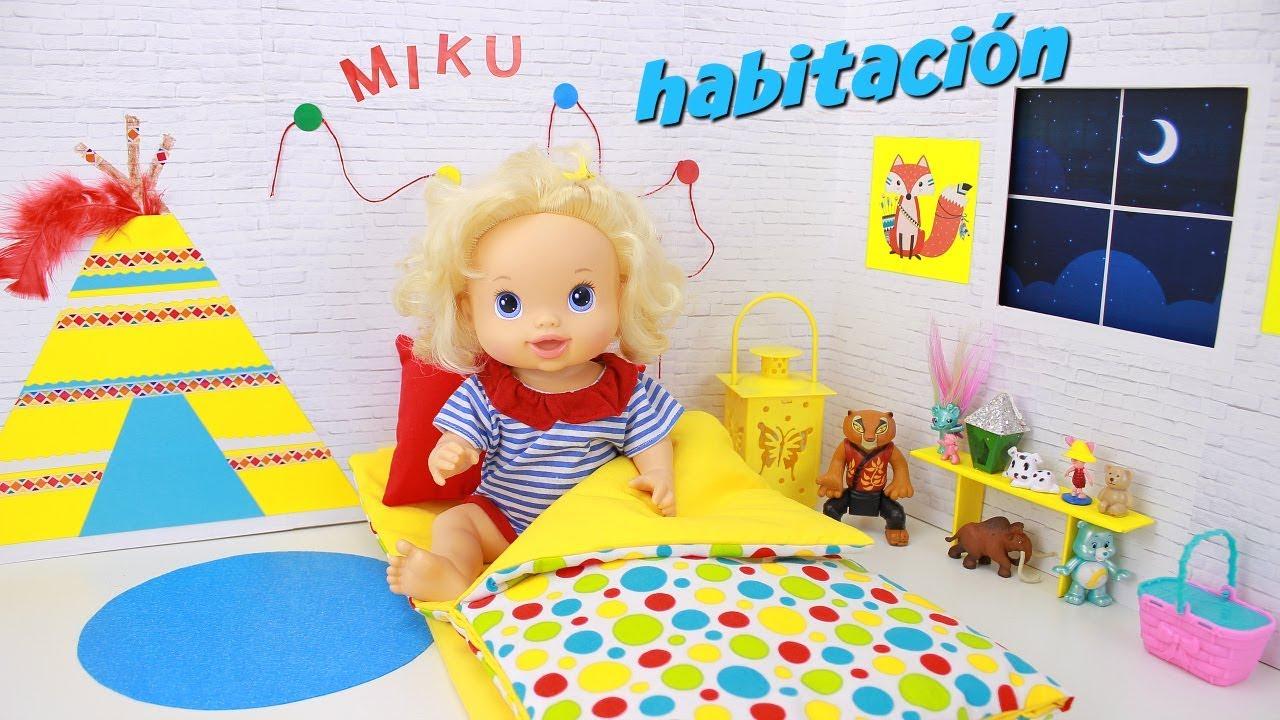 C mo hacer una escena de habitaci n para mu ecas baby for Programa para crear habitaciones