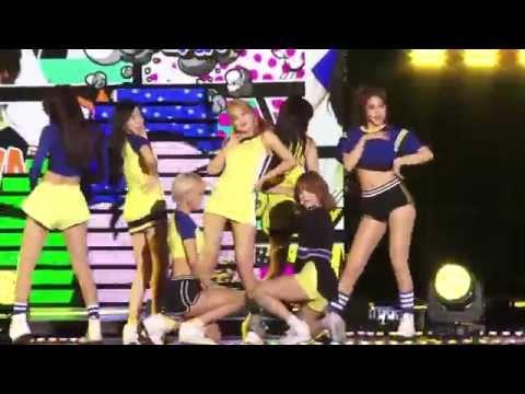 [Real Cam] AOA - Heart Attack, 에이오에이- 심쿵해, DMC Festival 2015