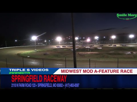 Midwest Mods A Feature Race 6 24 2017 Springfield Raceway