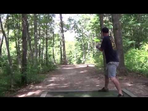 2014 MDGE disc golf round 1 Pro/Open Asheville