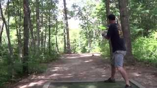2014 MDGE disc golf round 1 Pro/Open Asheville