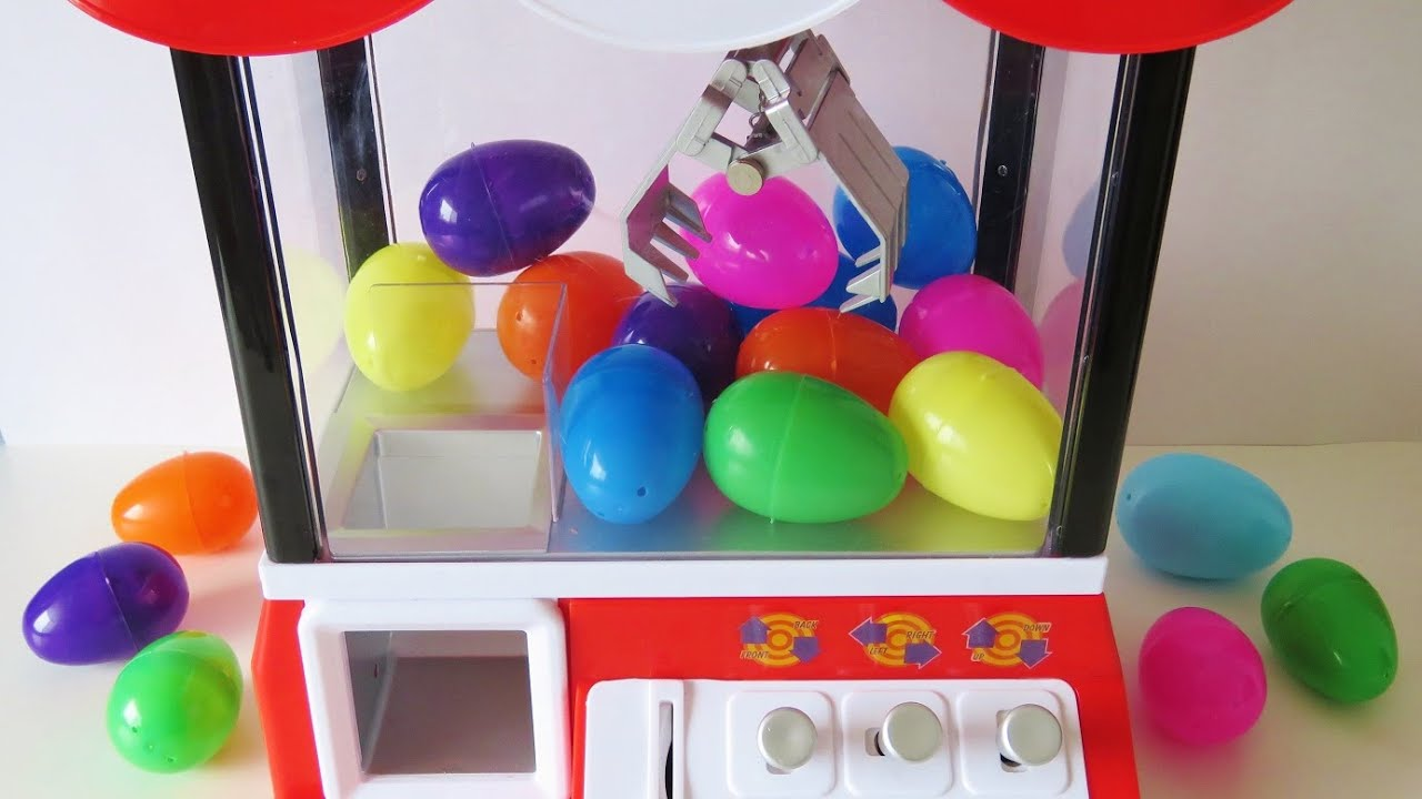 Surprise Egg Toy Claw Machine Vending Machine Coin Bank
