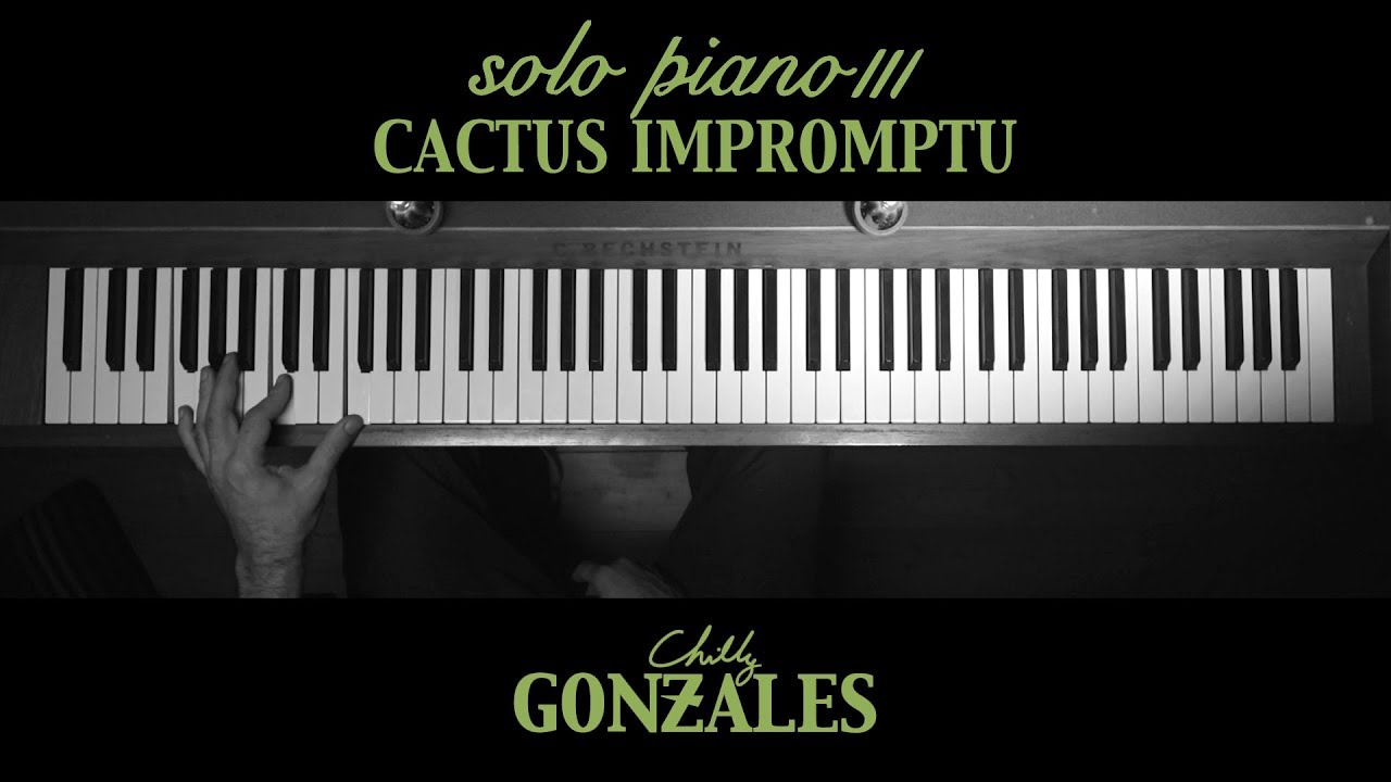 video: Chilly Gonzales - SOLO PIANO III - Cactus Impromptu