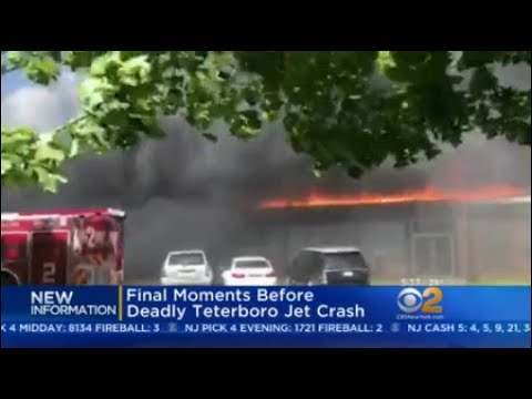 NTSB Releases Details On Final Moments Before Deadly Teterboro Airport Crash