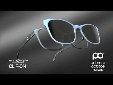 809310846e Gafas Clip-On, gafas con accesorio solar imantado. Ser adaptan  perféctamente - YouTube