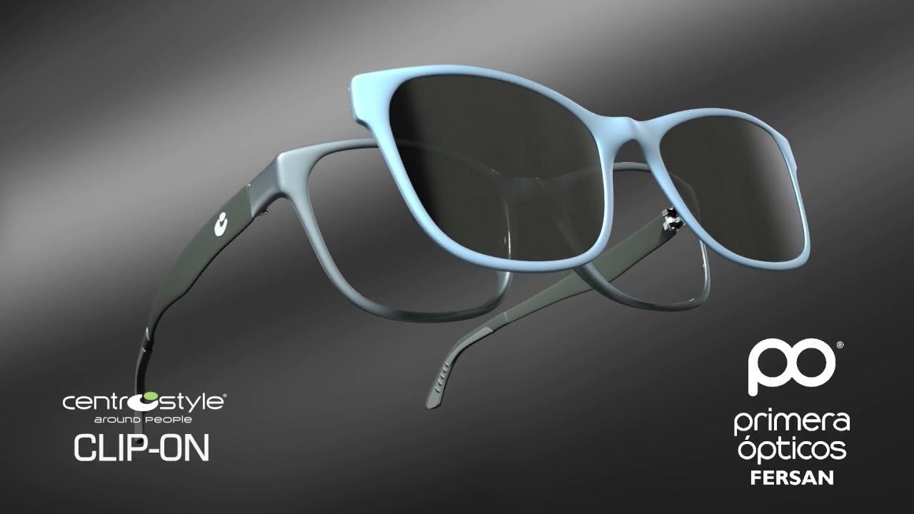 Gafas Clip-On, gafas con accesorio solar imantado. Ser adaptan ...