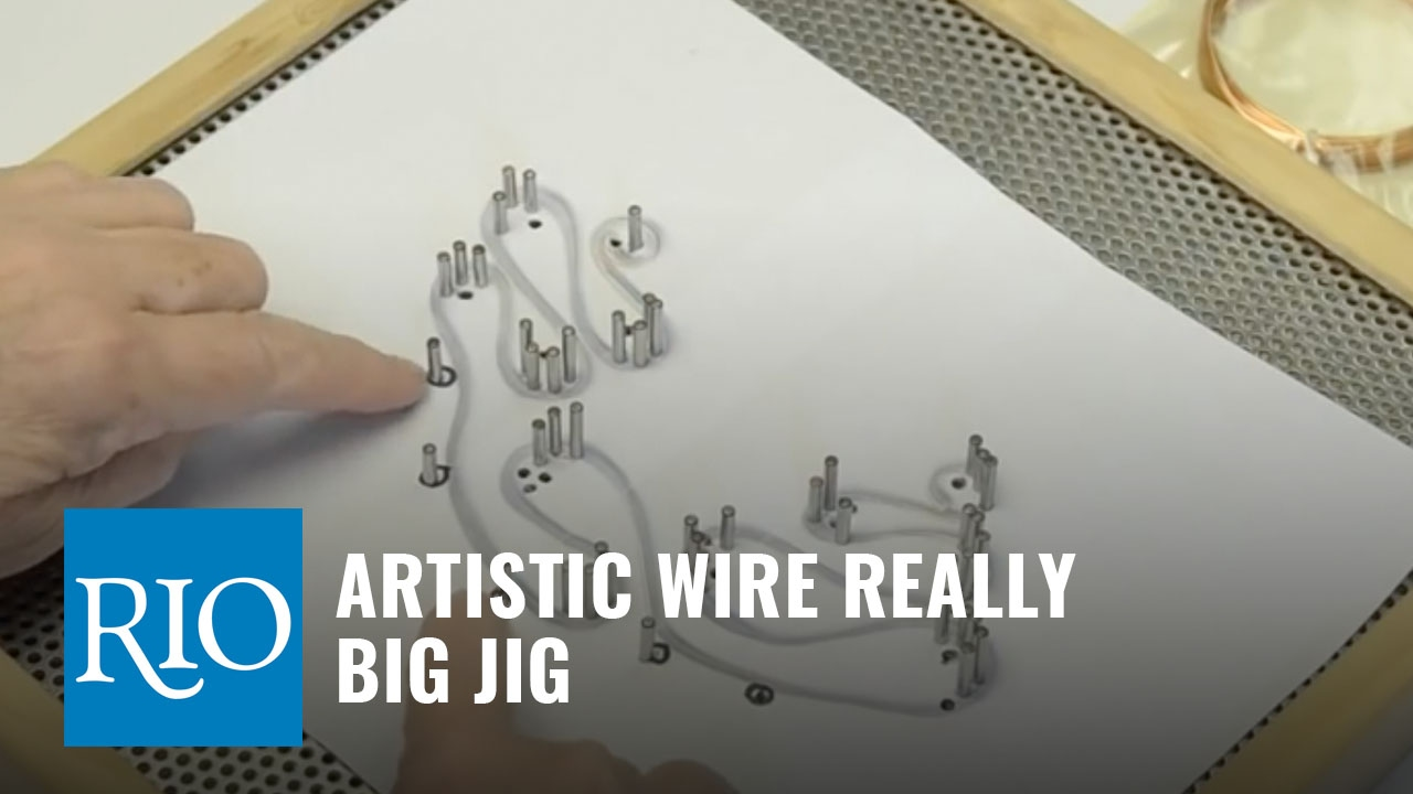 How to Use the Artistic Wire® Really Big Jig™ - YouTube