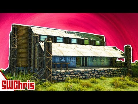 Build This Amazing Chemistry and Crafting Workshop - How To Build Tutorial - ARK Building Guide