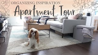 Organizing Inspiration for Small Spaces | Boston Apartment Tour