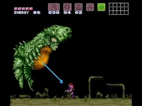 Super Metroid - Drayon X-Ray On/Off