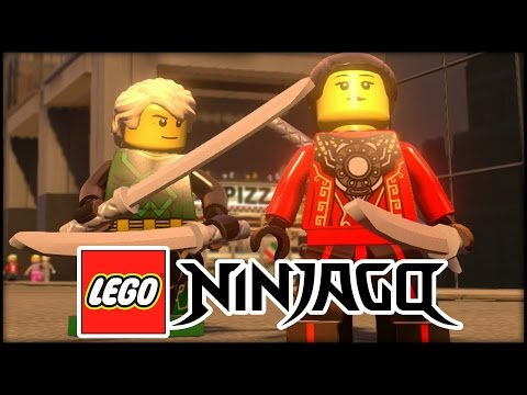 LEGO Ninjago Characters in LEGO MARVEL AVENGERS!