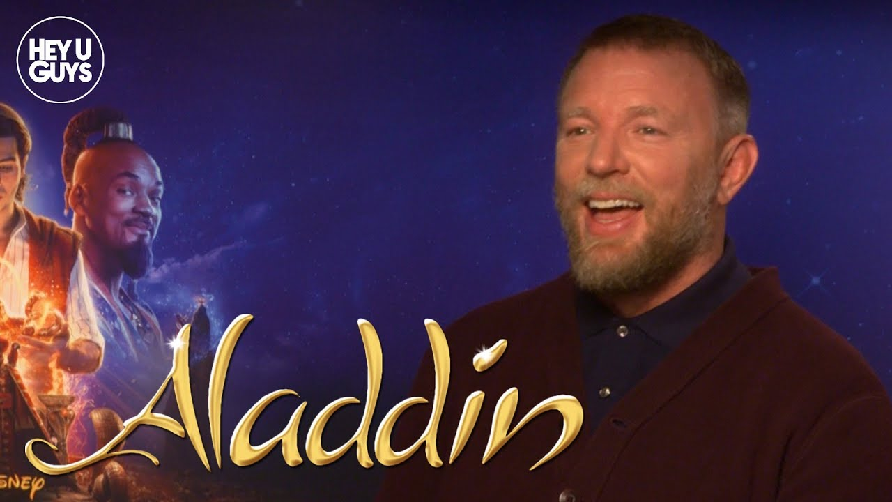 Guy Ritchie on Aladdin & working with Will Smith - YouTube