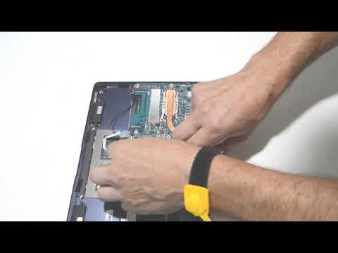 How to Disassemble, Repair and Upgrade Asus ZenBook UX390U Laptop