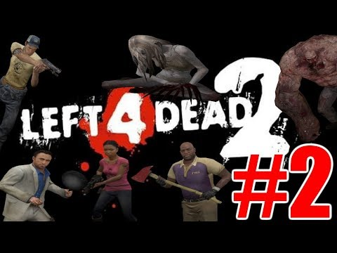The FGN Crew Plays: Left 4 Dead 2 REVISIT #2 - Witch Rampage