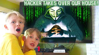 Hacker Takes Over Our Home! The Family is in Danger! / The Beach House