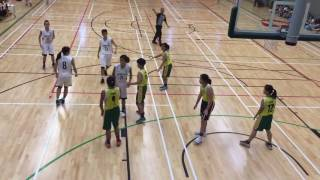 2017 全港學界籃球馬拉松 (女子組) 寶覺中學 vs 鄧