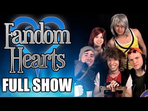 Fandom Hearts: A Kingdom Hearts Parody Musical | FULL SHOW