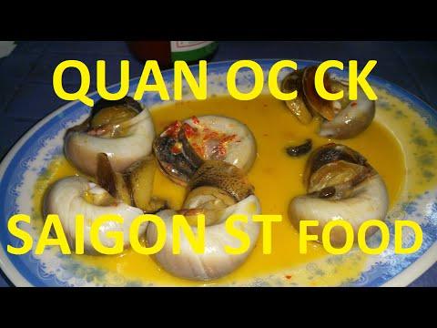 Quan Oc CK Oc Len Xao Dua Saigon Ho Chi Minh City Vietnam 2016