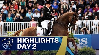 Dressage gold for Germany, Eventing Dressage gets underway | Day 2 | FEI World Equestrian Games 2018