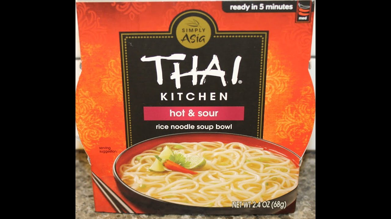 Thai Kitchen Hot And Sour Soup Review