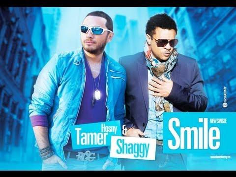 Tamer FT Shaggy smile - تامر حسني و شاجي  سمايل ماستر كامله