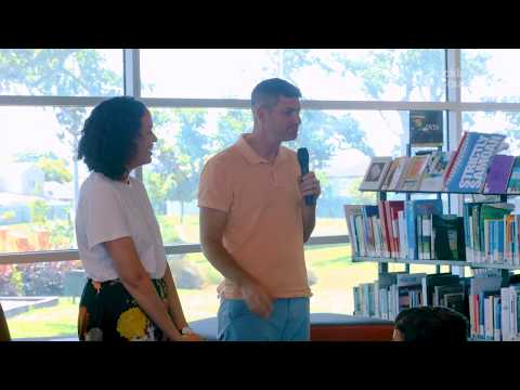 Tupu Youth Library gets surprise star guests   Auckland Council