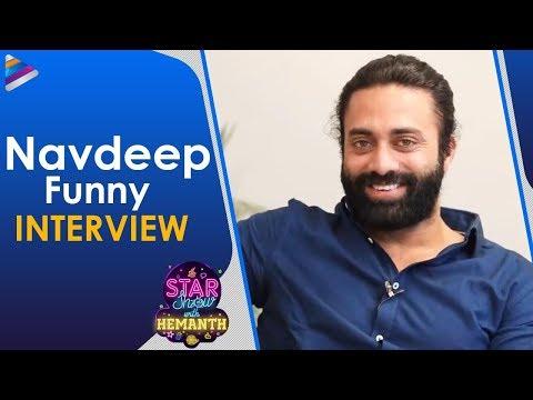 Navdeep Funny Interview | The Star Show With RJ Hemanth | Happy Birthday Navdeep | Telugu FilmNagar