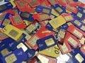 Mengolah emas dari sim card bekas