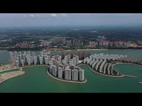 The world's biggest artificial island is about to fully open III