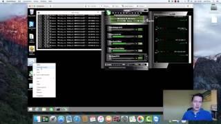 Gigabyte Windforce R9 280x 22Mh/s GPU Mining Ethereum (7970)