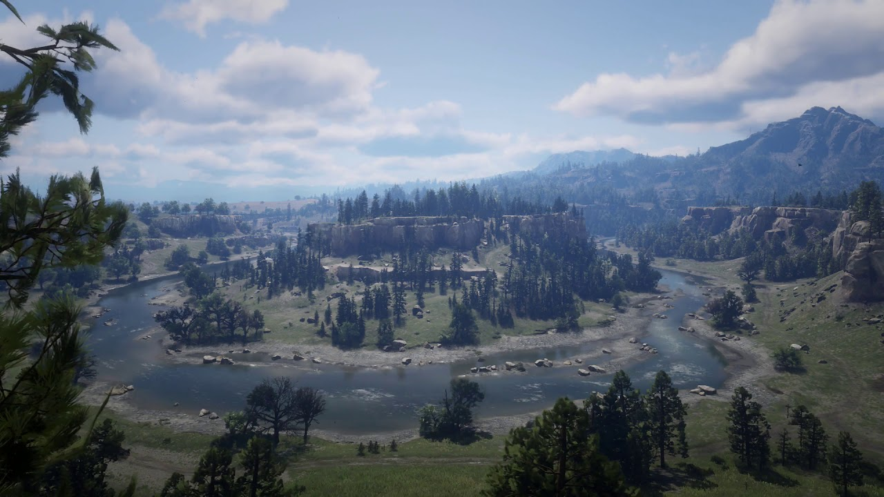 Red Dead Redemption 2 Rdr2 River Live Wallpaper Youtube