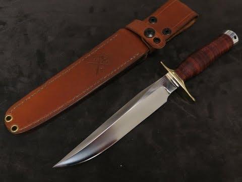 Vehement Knives Custom 3V Fighter:  Stunning, Fast, Dangerous!