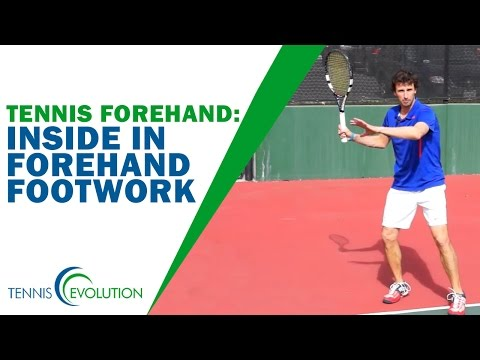 TENNIS FOREHAND | Inside In Forehand Footwork